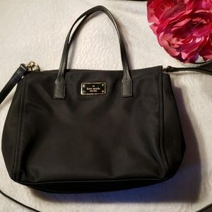 Kate Spade Black Nylon Purse